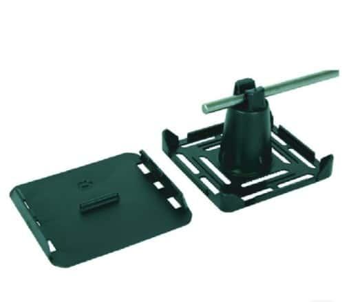 Base Plastica Dehn 8 mm 110X105X75 mm